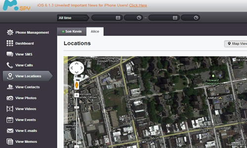 spying app for ipad