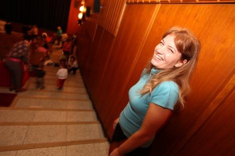 Květa Štěrbová, vedoucí projektu. Šťastná hvězdná máma :-)